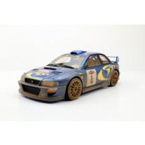 Subaru Impreza S4 WRC 2nd Place San Remo 1998 Dirty