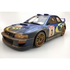 Subaru S4 WRC 1998 Tour De Corse dirty (Pre-order)