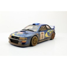 Subaru Impreza S4 WRC 2nd Place San Remo 1998 Dirty (Pre-order)