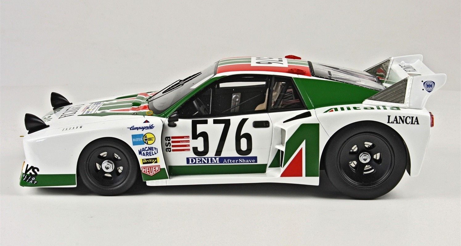 top marques collectibles lancia beta montecarlo #576 giro d'italia