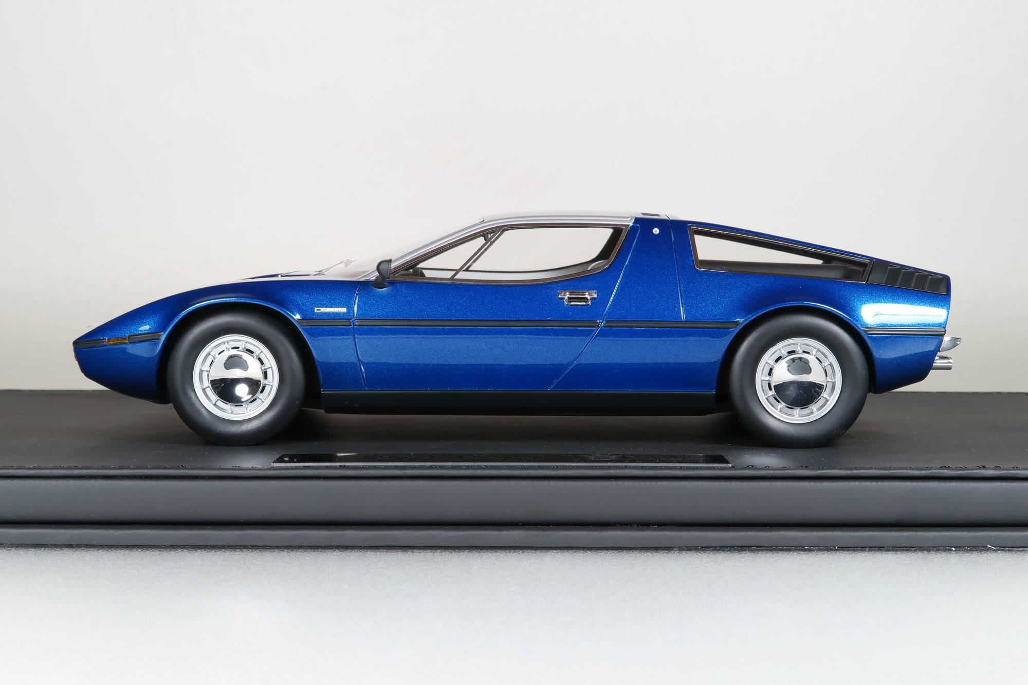 Top Marques Collectibles Maserati Bora 1 18 Blau Top25b