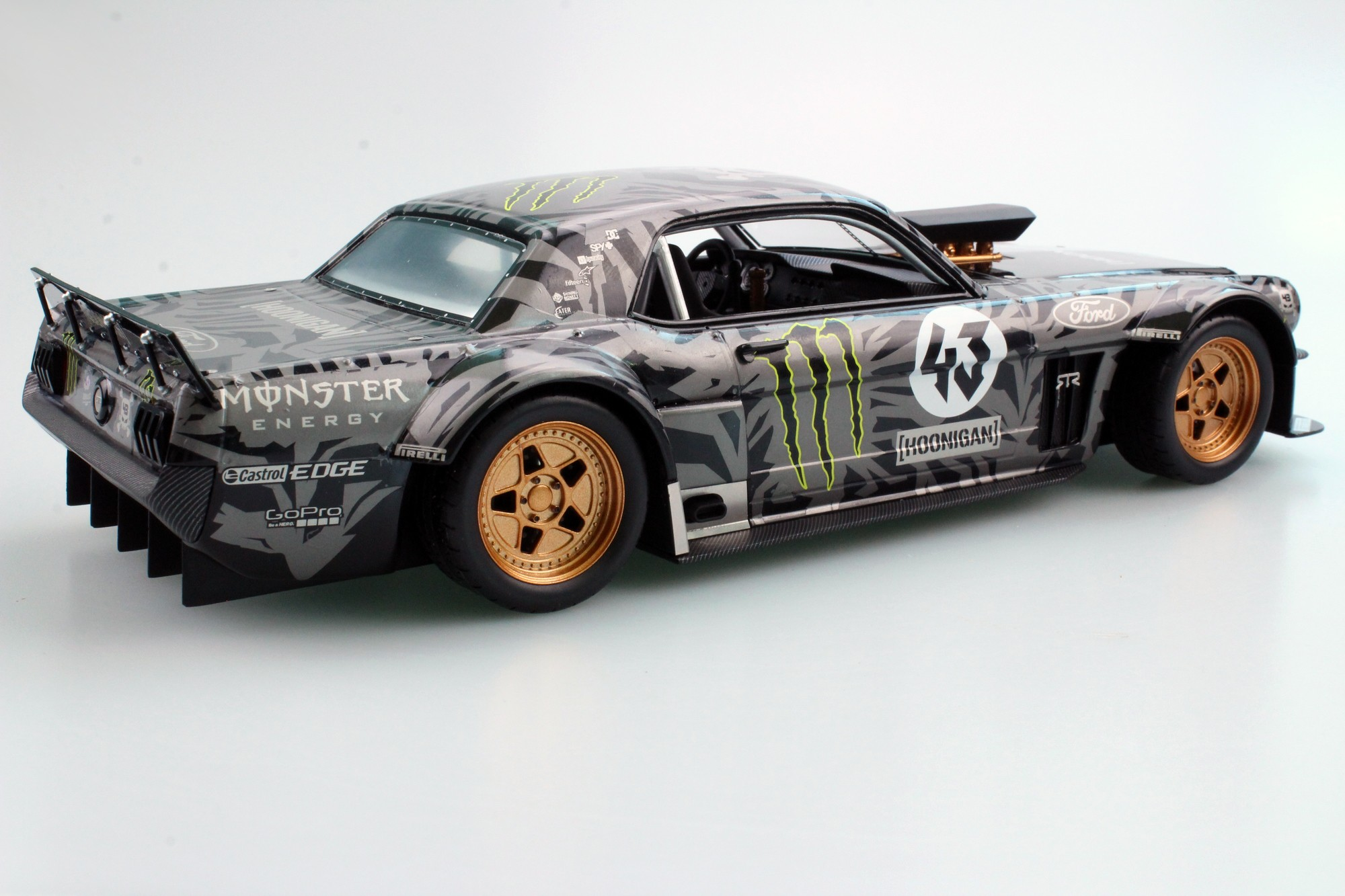 Top Marques Collectibles Ford Mustang 1965 Hoonigan Ken