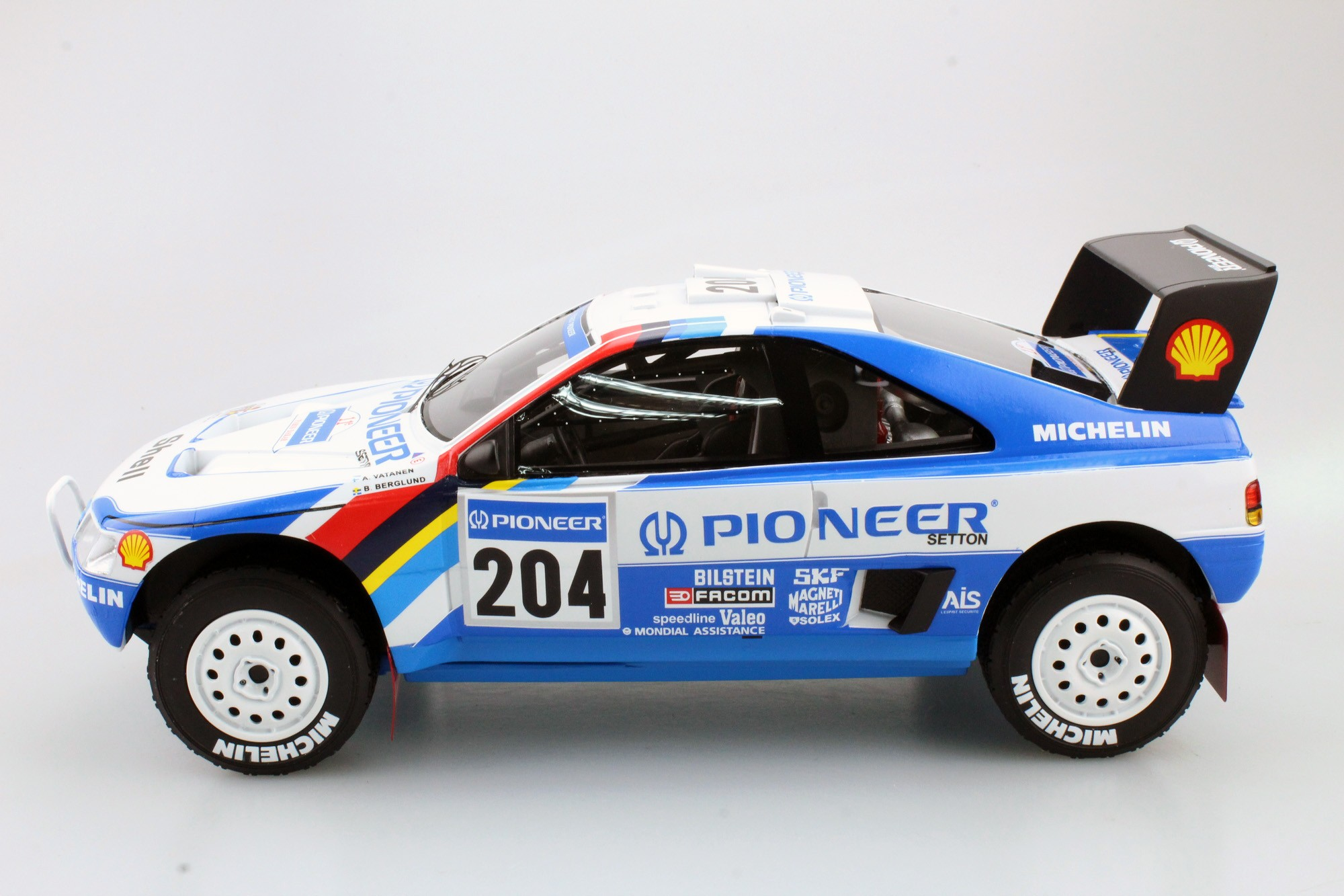 Top Marques Collectibles Peugeot 405 GT T-16 Paris Dakar ...