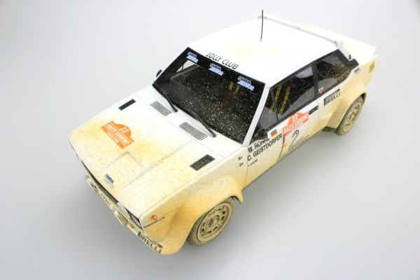 Fiat 131 Abarth Winner San Remo 1980 Dirty version