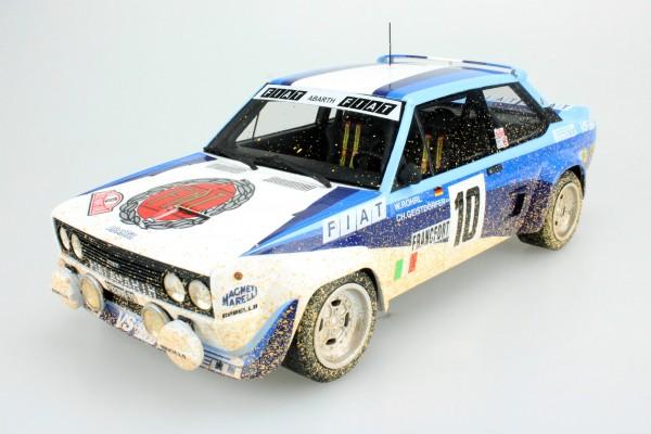 Fiat 131 Abarth 1980 Rally Montecarlo Winner Dirty