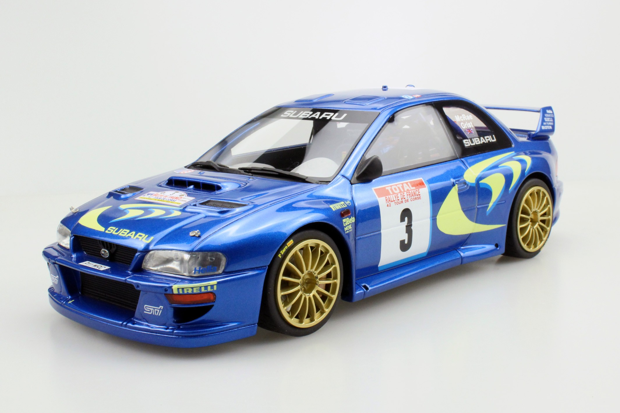top marques collectibles subaru impreza s4 wrc tour de corse 1998 pre order colin mcrae. Black Bedroom Furniture Sets. Home Design Ideas