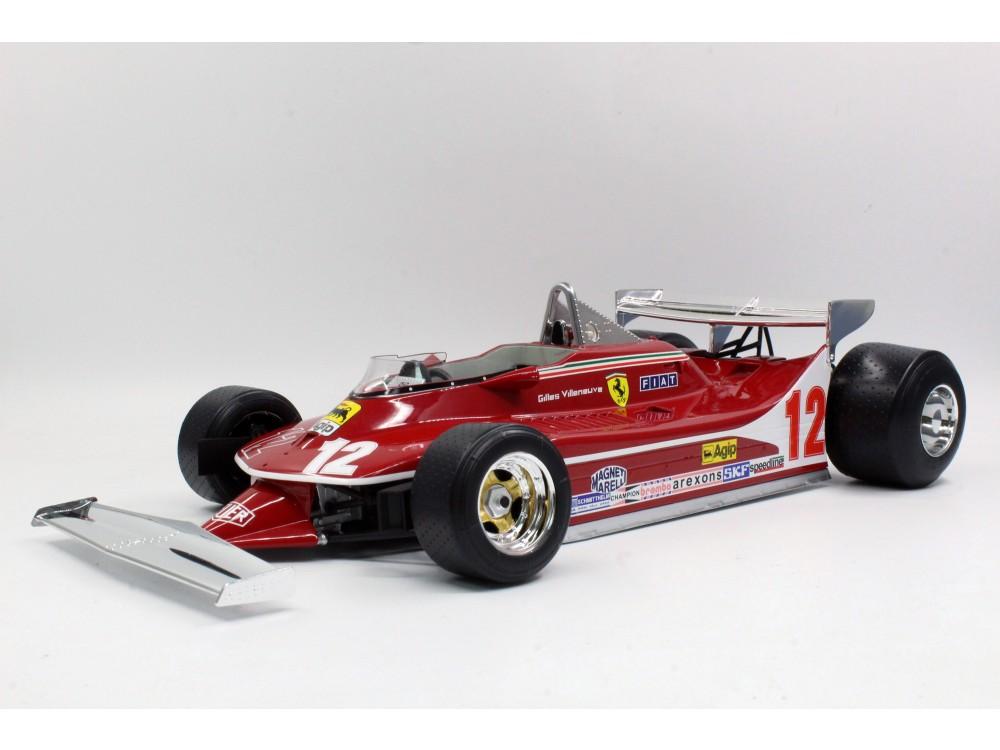 312 T4 Gilles Villeneuve Short Tail
