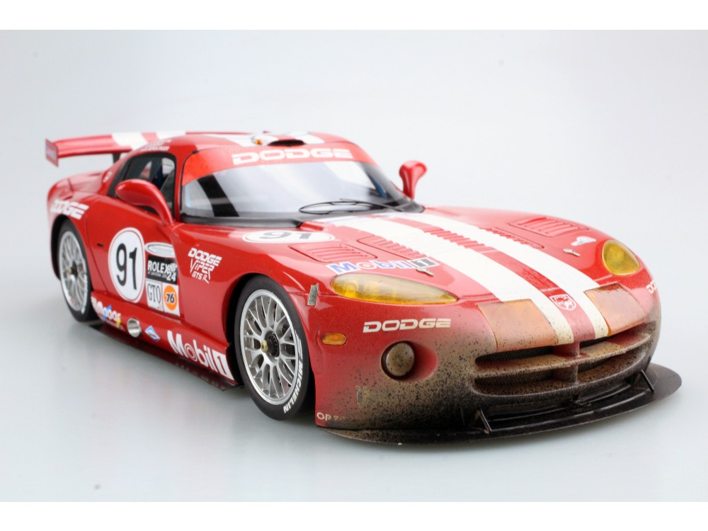Dodge/Chrysler Viper GTS-R Oreca Daytona Winner 2000 dirty