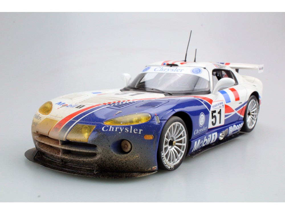 Dodge/Chrysler Viper GTS-R Oreca Le Mans Winner 99 dirty