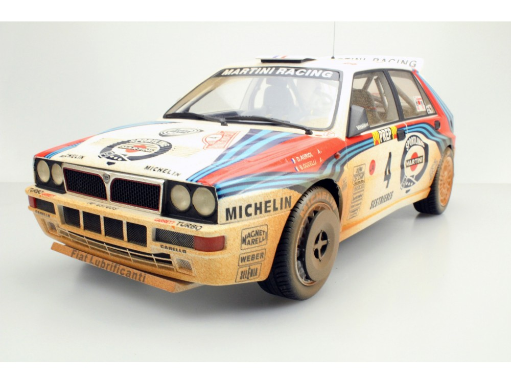 Lancia Delta MC Winner 1992 dirty