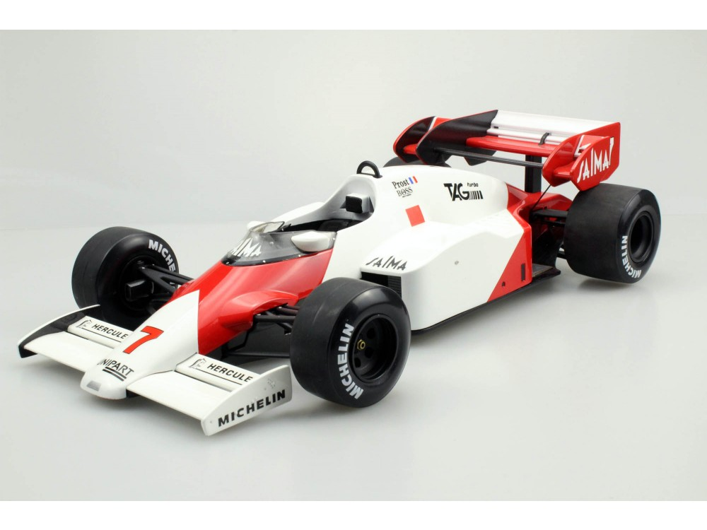 mp4/2 1984 - A.Prost 2nd place W.C.
