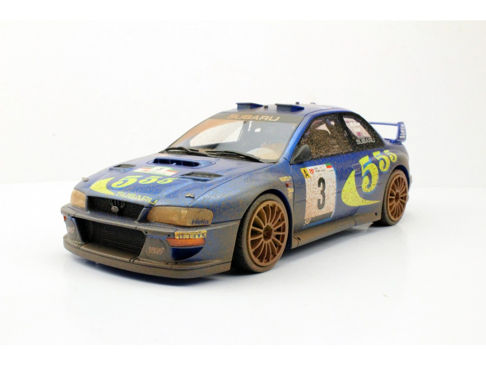 Subaru Impreza S4 WRC Portugal Winner 1998 Dirty