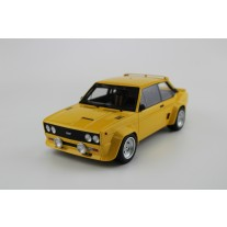 Fiat 131 Abarth 1977 plain yellow