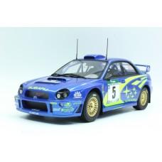 Subaru Impreza S7 555 WRT New Zealand winner