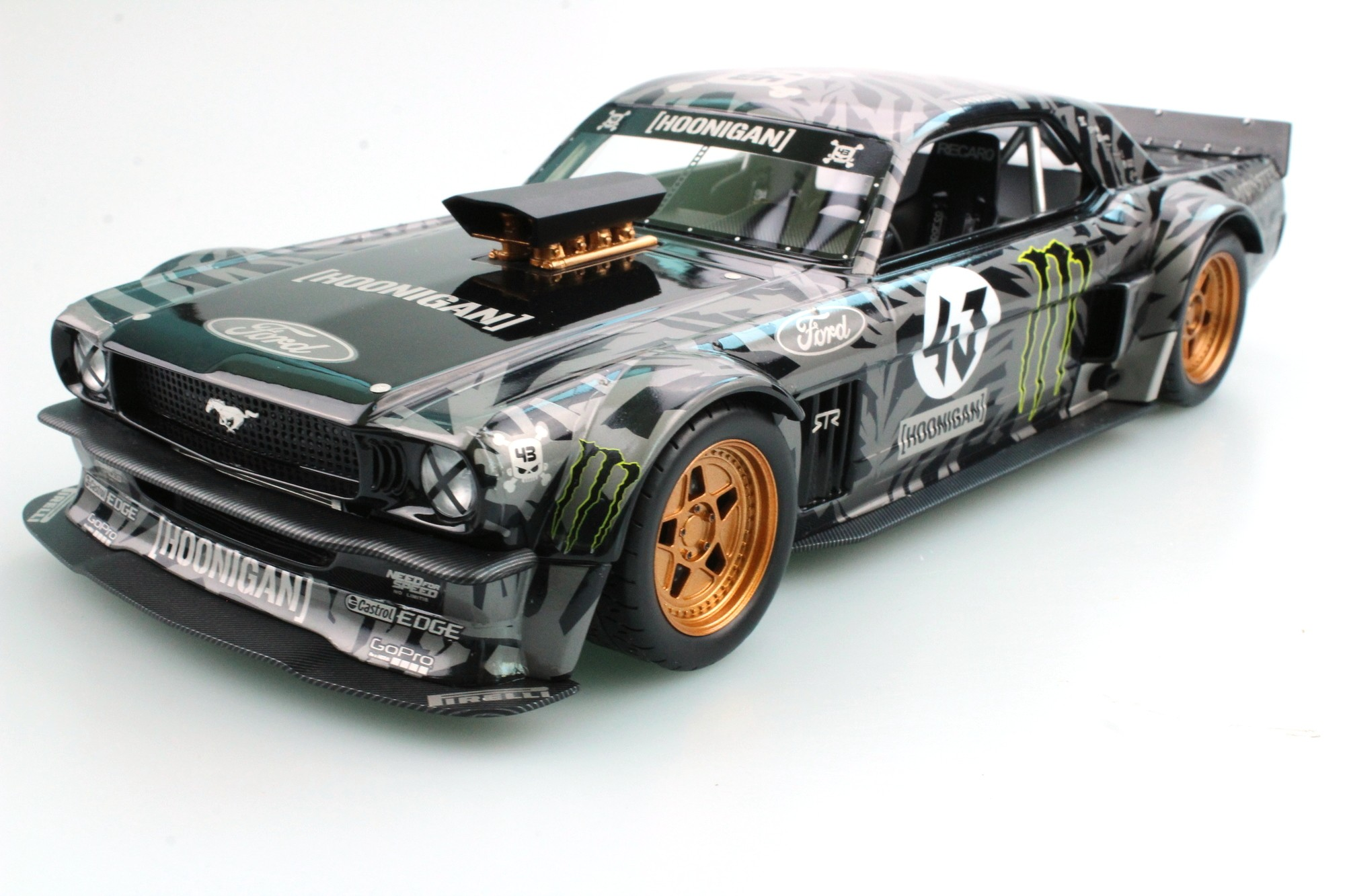 Top Marques Collectibles Ford Mustang 1965 Hoonigan, Ken ...