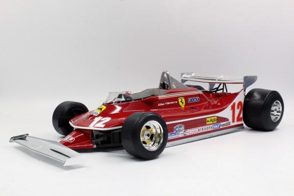 312 T4 Gilles Villeneuve Short Tail (Pre-order)