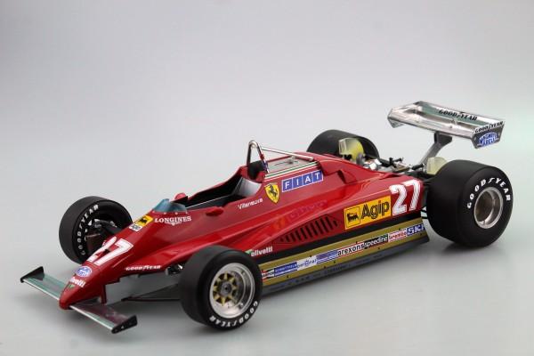 Ferrari 126 C2 1982 GP Zolder Villeneuve (Pre-order)