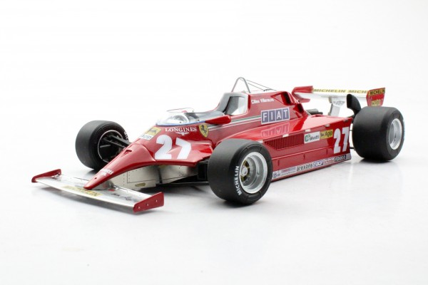 Ferrari 126 CK 1980 Villeneuve (Pre-order)