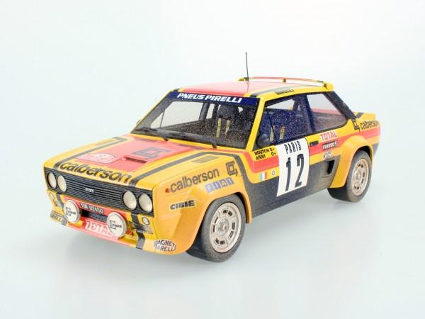Fiat 131 Abarth 1980 Rally Montecarlo dirty