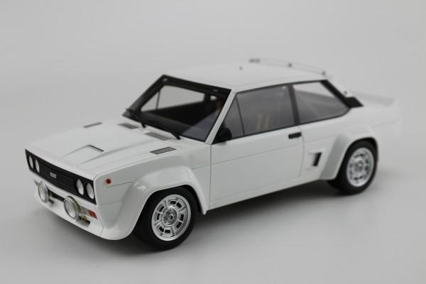 Fiat 131 Abarth 1977 plain white