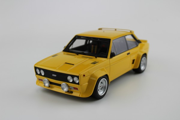 Fiat 131 Abarth 1977 plain yellow