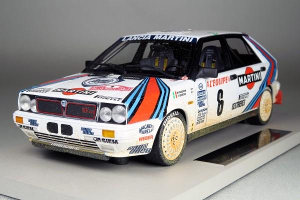 "Lancia 4WD MC Winner 1987 ""mud/dirty"""