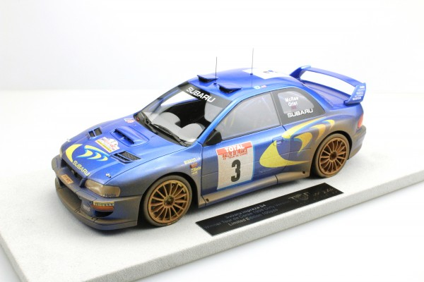 Subaru Impreza S4 WRC Tour de Corse 1998 Dirty version