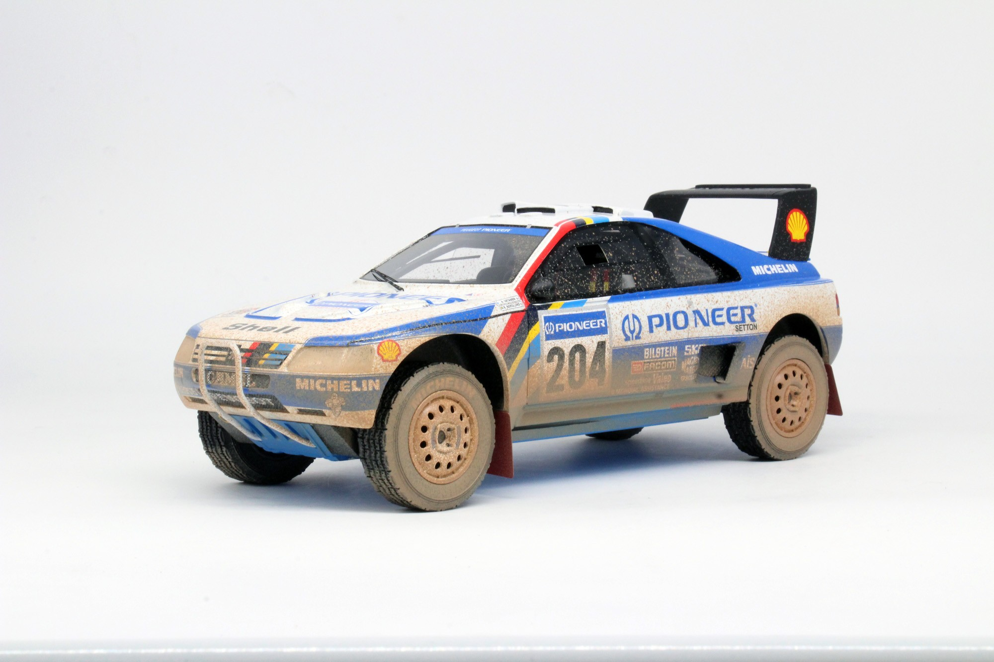 Top Marques Collectibles Peugeot 405 GT T 16 Paris Dakar Winner 1989