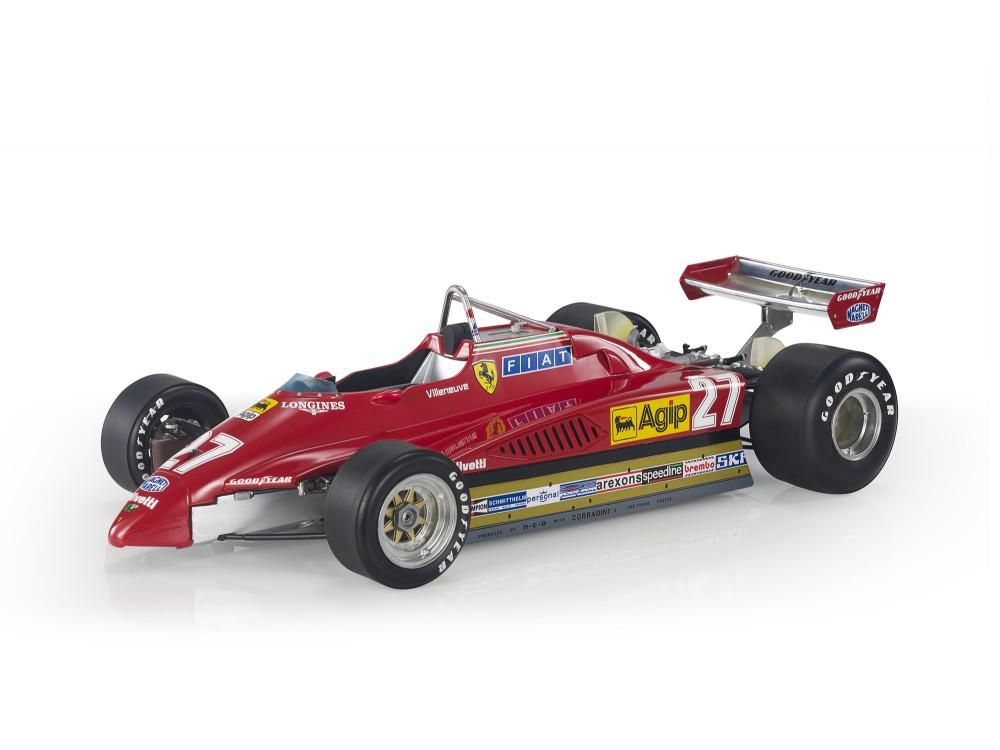 Ferrari 126 C2 1982 GP Italy Villeneuve (Pre-order)