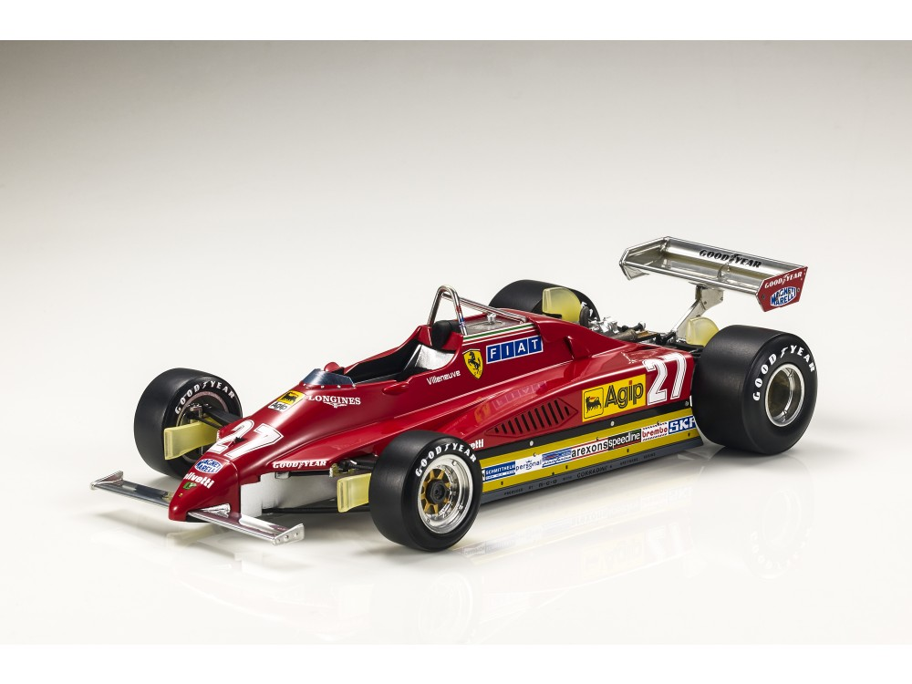 Ferrari 126 C2 1982 Villeneuve (Pre-order)