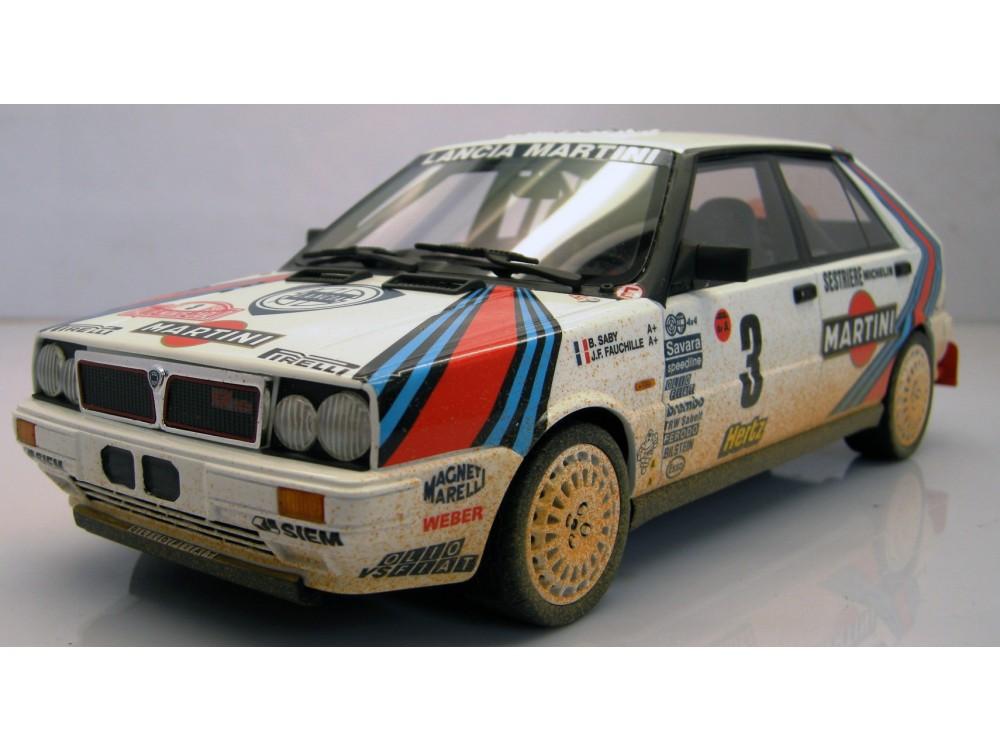 "Lancia 4WD MC Winner 1988 ""mud/dirty"""