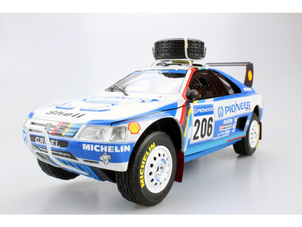 Peugeot 405 GT T-16 Paris Dakar 2nd place 1989