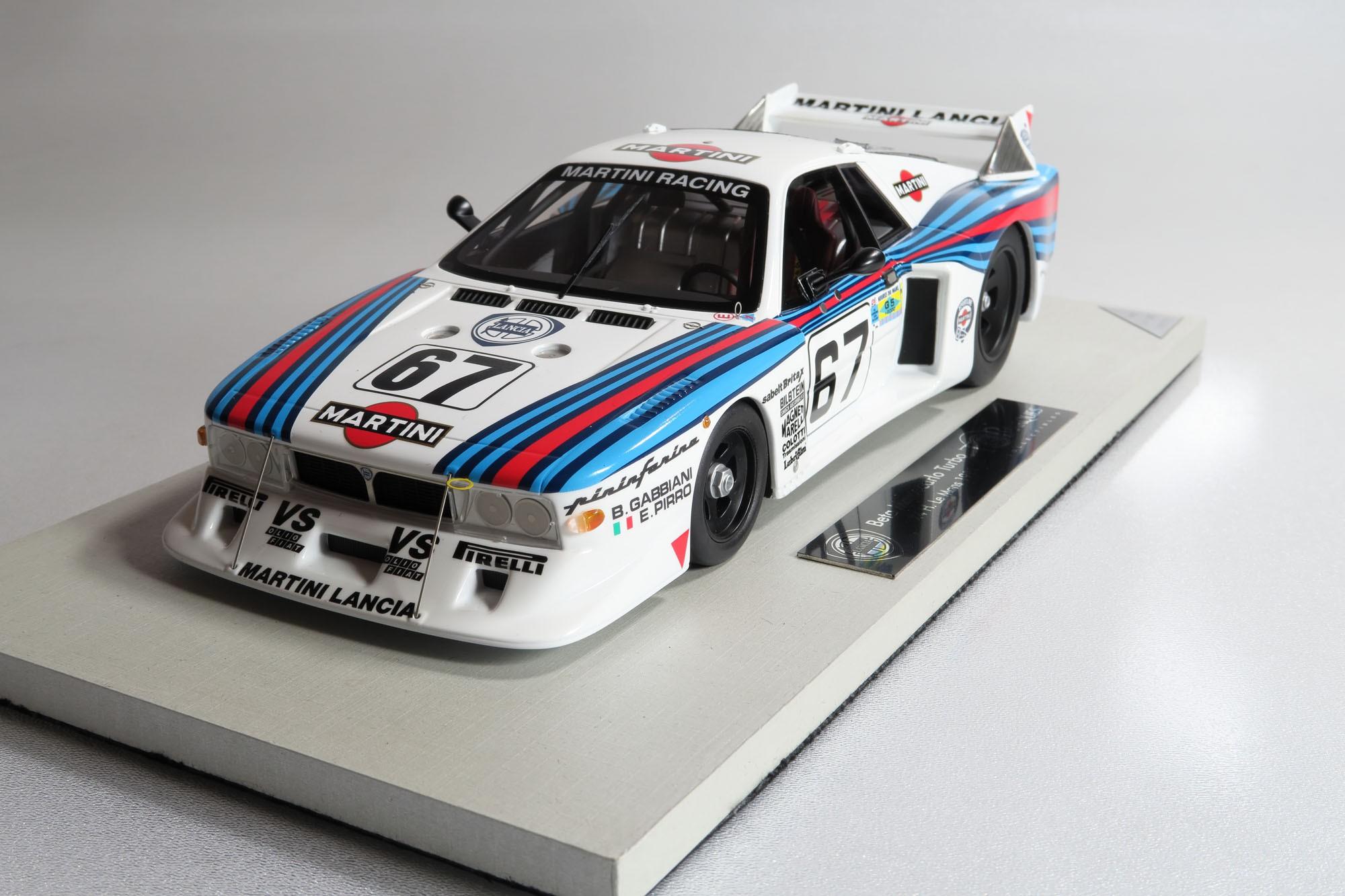 top marques collectibles lancia beta montecarlo 24h le mans 1981 67 1 18 racing top21c. Black Bedroom Furniture Sets. Home Design Ideas