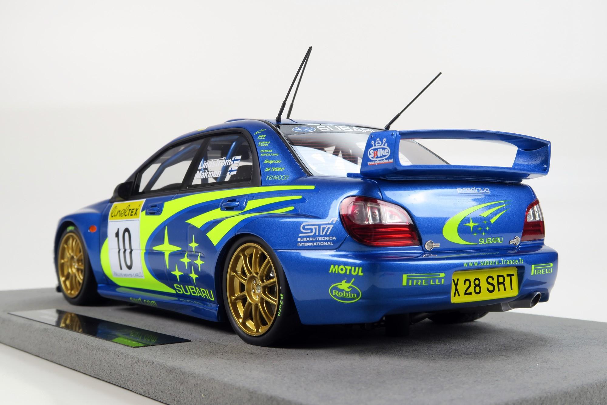 Top Marques Collectibles Subaru Impreza S7 555 Wrt Tommi