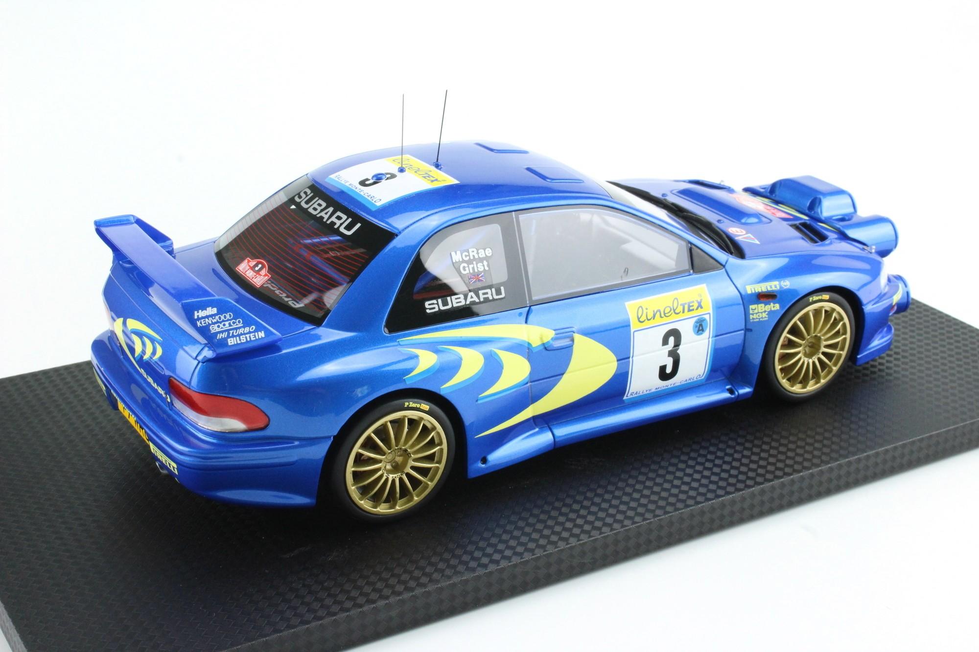 top marques collectibles subaru impreza  wrc mc rally  colin mcrae nicky grist